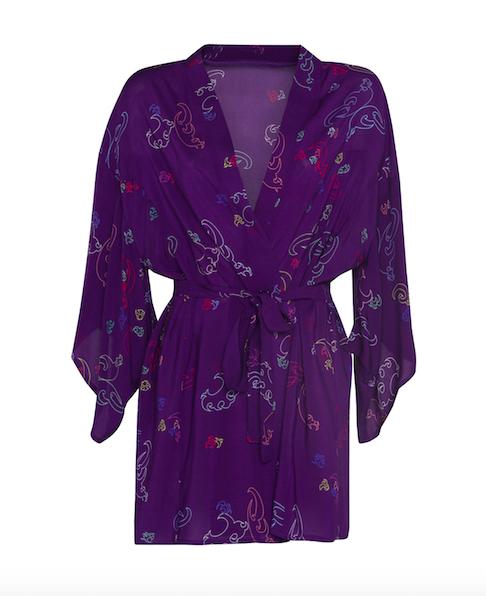 Kimono Short Purple