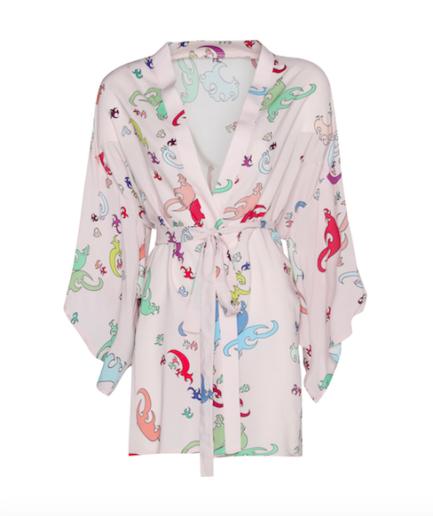 Kimono Short Dusty Pink