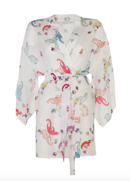 Kimono Short White