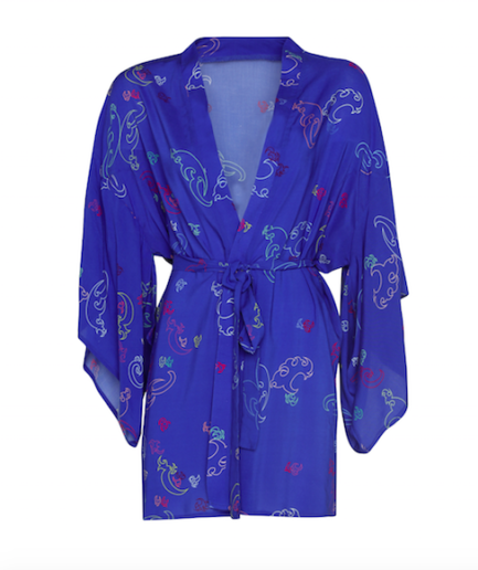 Kimono Short Blue