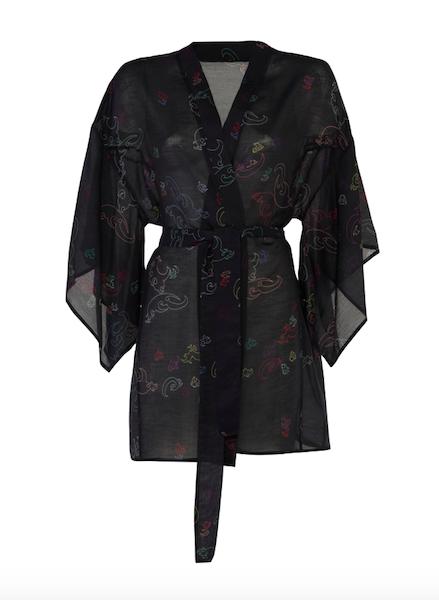 Kimono Short Black