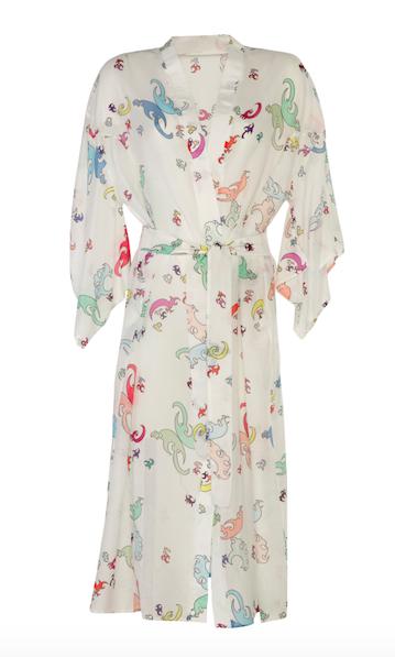 Kimono Long White