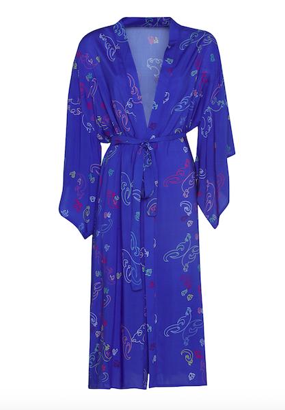 Kimono Long Blue