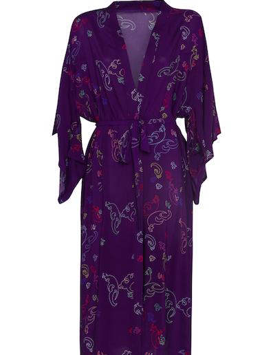 Kimono Long Purple
