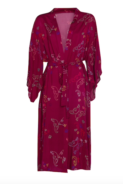 Kimono Long Pink